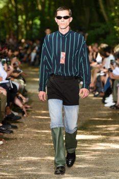 Balenciaga jeans tres partes