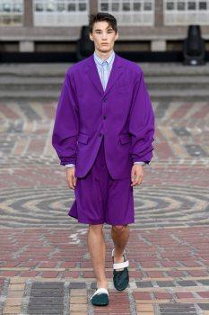 Kenzo Modern Suit morado